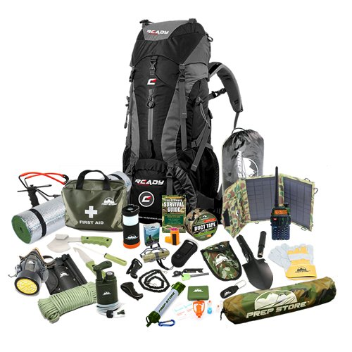Elite Ready Backpack - #1 Emergency Pack / Hurricane Emergency Kit / Bug  Out Bag available in the USA