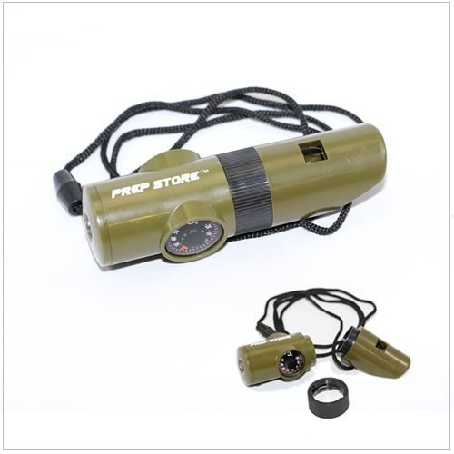 Multi-Function Survival Whistle