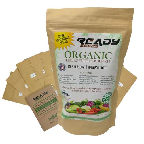 Organic Heirloom Seed Garden - Ready Seeds