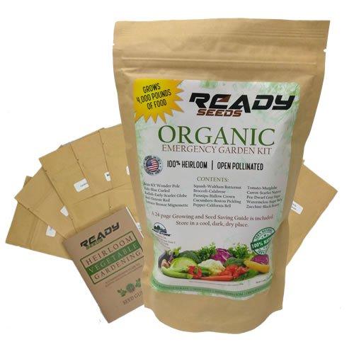 Organic Heirloom Seed Garden - Ready Seeds