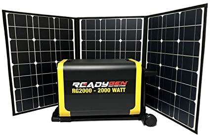 2000 watt solar generator