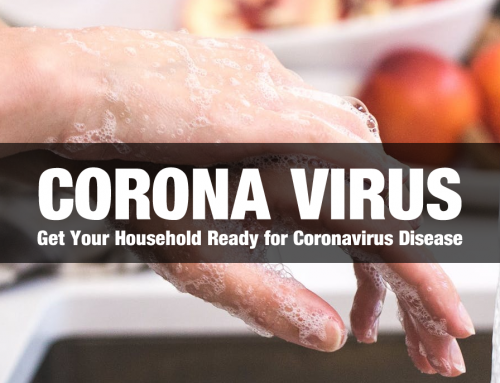 Get Your Household Ready for Coronavirus Disease